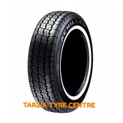 "Achilles 9595 205/75R14C"" 109S New White Wall Radial Commercial Tyre 205 75 14C"