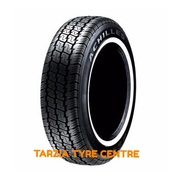 "Achilles 9595 205/75R15C"" 103/100S New White Wall Radial Commercial Tyre 205 75 15C"