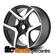 20 x 8.5 / 9.5 Inch VF2 R8 Style Wheels Gloss Black Staggered X4 Suits Commodore VE - VF HSV