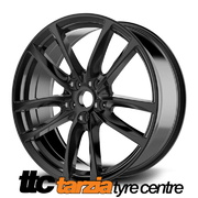 20 x 8 Inch VF Redline Style Wheels Black X4 Suits Commodore VB - VZ HSV Clubsport GTS SS