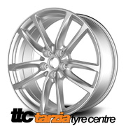 20 x 8 Inch VF Redline Style Wheels Silver X4 Suits Commodore VB - VZ HSV Clubsport GTS SS