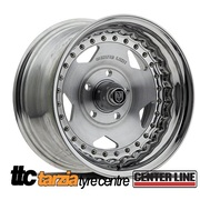"Center Line Wheels Convo Pro 15x8"" Holden Chev Bolt 5x4.75 4.5"" Backspace"