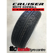 "Cruiser Carora K365 White Wall 205/65R15"" 94H New Classic/Retro Tyre 205 65 15"