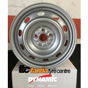 "Dynamic 15x6"" 5x100 +45 Suburu Steel Wheel"