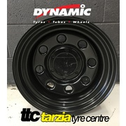 "Dynamic 15x8"" Soft 8 4X4 Steel Wheel 6x139.7 -22 Black"