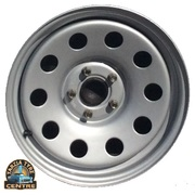 "Dynamic 16x6"" Circle Hole Landcruiser 4X4 Steel Wheel 5x150 +0 Grey"