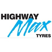 "Highway Max Coloured Smoke Burnout Drift Tyre 185/60R14"" Blue"
