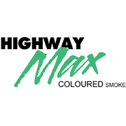 "Highway Max Coloured Smoke Burnout Drift Tyre 185/60R14"" Green"
