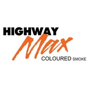 "Highway Max Coloured Smoke Burnout Drift Tyre 185/60R14"" Orange"