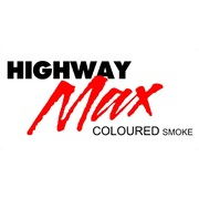 "Highway Max Coloured Smoke Burnout Drift Tyre 185/60R14"" Red"