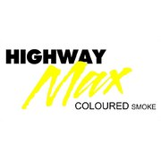"Highway Max Coloured Smoke Burnout Drift Tyre 185/60R14"" Yellow"