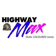 "Highway Max Dual Coloured Smoke Burnout Drift Tyre 195/50R15"" Blue to Pink"