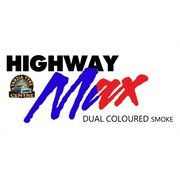 "Highway Max Dual Coloured Smoke Burnout Drift Tyre 195/50R15"" Blue to Red"