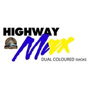 "Highway Max Dual Coloured Smoke Burnout Drift Tyre 195/50R15"" Blue to Yellow"
