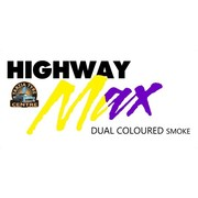 "Highway Max Dual Coloured Smoke Burnout Drift Tyre 195/50R15"" Yellow to Purple"