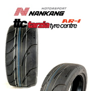"Nankang AR-1 Competition Tyre 185/60R13"" 80V New Semi Slick Tyre 80 Treadwear Super Soft"
