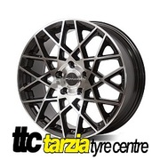 "PDW Velocity 18x8"" Package X4 Alloy Wheel 5x114.3 +40 Space Grey CB 73.1 Ford Nissan"