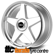 20 x 8.5 Inch HDT Momo Star Style Wheels Silver X4 Suits Commodore VB - VZ HSV Clubsport Sale****