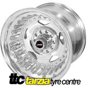 Street Pro Convo 15 x 8.5 Inch Holden Chev Ford Dual Bolt 3.50 inch Back Space STP005-158000