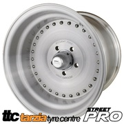 Street Pro 007 Autodrag Satin Wheel 15 x 8.5 Inch Early Holden Chev Bolt 5 x 4.25 5 inch BS