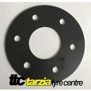 Wheel Spacer x2 6x114.3 5mm Mild Steel Hub Locational Nissan Navara Pathfinder